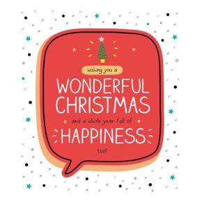Wonderful Christmas Full Of Happine