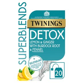 Twinings Superblends Detox 20 Tea Bags