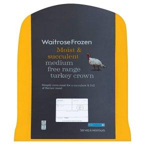 Waitrose Frozen Medium Free Range Turkey Crown