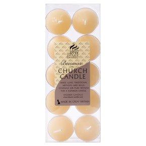 Shearer Beeswax Church Candles (10 per pack)