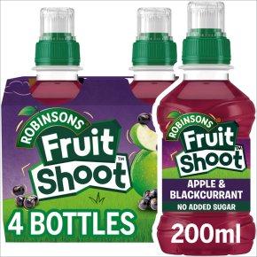 Robinsons low sugar fruit shoot blackcurrant & apple