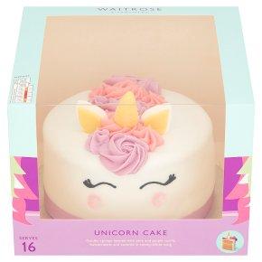 Waitrose Unicorn Celebration Cake