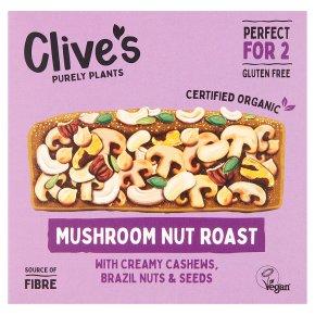 Clive's Organic Mushroom Nut Roast