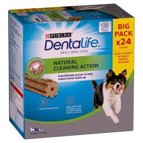 Dentalife 24 Sticks Dog Medium 12Kg-25Kg