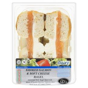 DDs Ksh Smkd Salmon Cr Cheese Bagel