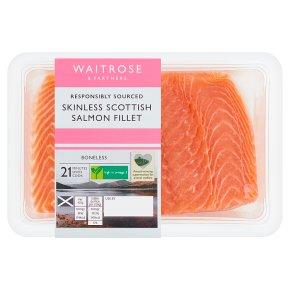 Waitrose Skinless Salmon Fillet