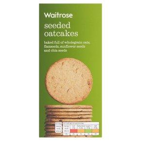 Waitrose Seeded Oatcakes