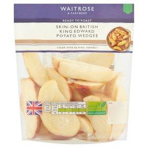 Waitrose Skin-On King Edward Potato Wedges