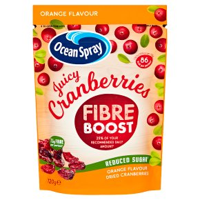 Ocean Spray Fibre Boost Orange Cranberries