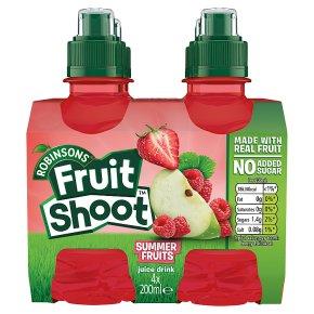 Robinsons low sugar fruit shoot summer fruits