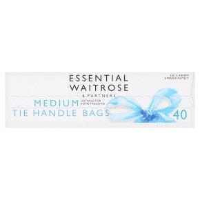 Essential Medium Tie Handle Bags