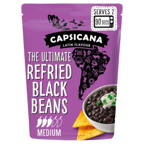 Capsicana Refried Black Beans