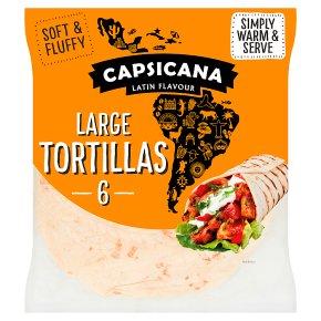 Capsicana 6 Large Tortillas