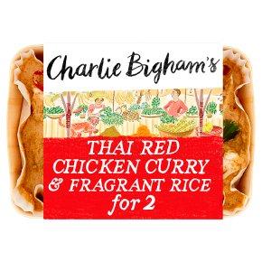 Charlie Bigham's Thai Red Chicken Curry Fragrant Rice