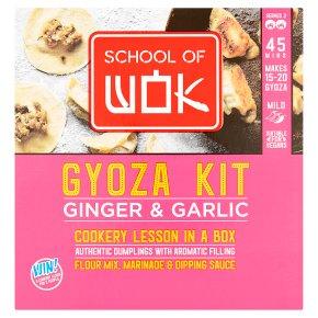 School of Wok Ginger & Garlic Gyoza Kit
