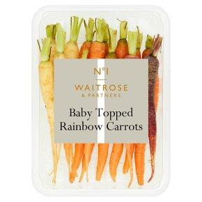 No.1 Baby Rainbow Carrots