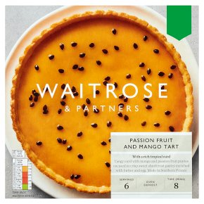 Waitrose Passion Fruit & Mango Tart