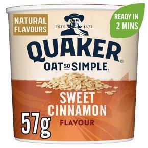 Quaker Oat So Simple Sweet Cinnamon Porridge Pot