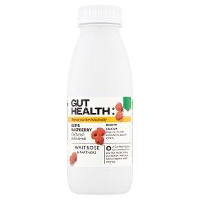 Waitrose Gut Health Raspberry Kefir Drink