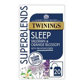 Twinings Superblends Valerian & Orange Sleep 20 Tea Bags