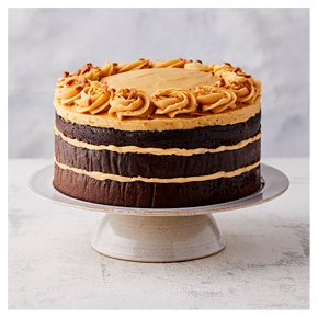 Chocolate Salted Caramel Triple Layer Cake