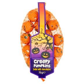Creepy Pumpkins Milk Chocolates