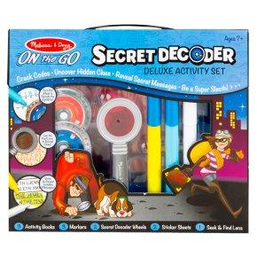 M&D Secret Decoder Game Book