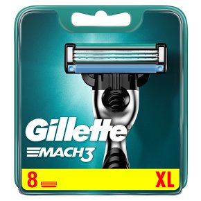 Gillette Mach 3 HD triple cartridges