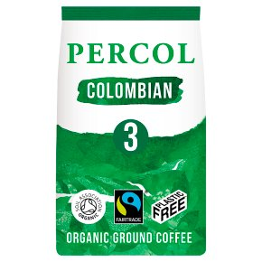 Percol Fairtrade Colombian Ground Coffee