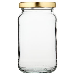 Waitrose Cooking 1lb jam jar