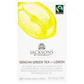 Jacksons Sencha Green Tea with Lemon 20 Tea Bags
