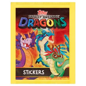 Topps Totally Awesome Dragons Stickers