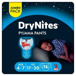 DryNites Pyjama Pants Boys 4-7yr