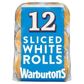 Warburtons Soft White Rolls
