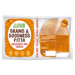 The Food Doctor Multi-Seed & Cereal Pittas