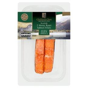 Ghillie & Glen Scottish 2 Honey Roast Salmon Fillets