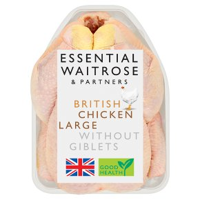 Essential British Chicken Large Without Giblets