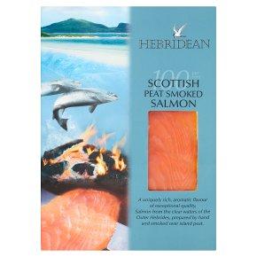 Hebridean Scottish Peat Smoked Salmon