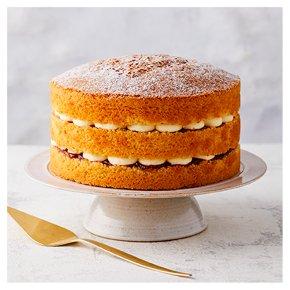 Victoria Sponge Triple Layer Cake