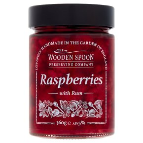 The Wooden Spoon Co. Raspberries with Rum