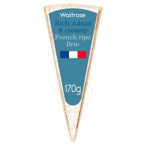 Waitrose French Ripe Brie Strength 5