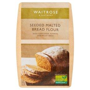 Waitrose Seeded Malted Bread Flour