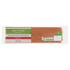 Waitrose Wholewheat Spaghetti