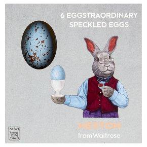 Heston from Waitrose 6 Eggstraordinary Speckled Eggs