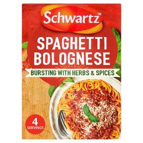 Schwartz Recipe Mix Spaghetti Bolognese
