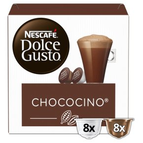 Nescafe Dolce Gusto Chococino Coffee Pods 8+8s