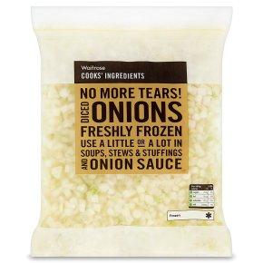 Waitrose CI FRZ Diced Onions