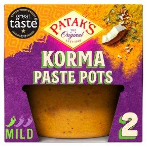 Patak's Paste Pots Korma