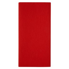 Waitrose Red Tablecover 118x180cm