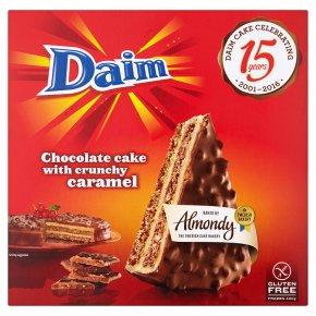 Daim Chocolate Cake with Crunchy Caramel Gluten Free